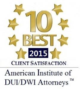 10 Best Award DUI 2015
